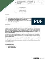 PROPOSAL HR Activity Santacruzan 2019