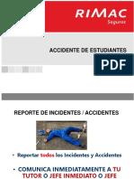 Seguro de Accidentes de Estudiantes Senati Rimac 2019