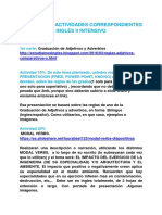 Planificacion Ingles II Saia Intensive San Cristobal