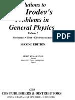 Abhay Kumar Singh I E Irodov Solutions to I.E. Irodov_'s Problems in General Physics. Volume 1 1998 (1)