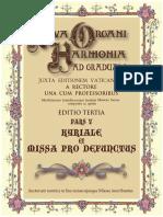 Nova Organi Harmonia Ad Graduale