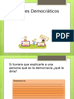 VALORES DEMOCRATICOS