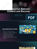 Information Systems Control and Security
