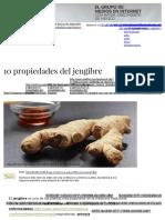 10 Propiedades Del Jengibre _ Enforma180