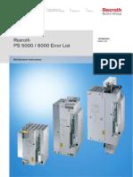 Bosch Ps5000-6000 Error List