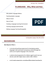 1 Teaching Spoken Language A