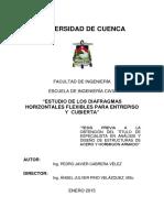 Analisis Estático No Lineal (Pushover)