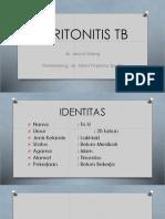 PPT Case Peritonitis TB