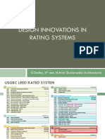Design Innovations in Rating Systems