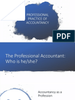 Lesson 1 Professional Practice of Accountancy