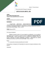 Cartas - Firma de Contrato