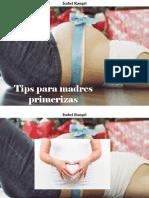 Isabel Rangel - Tips Para Madres Primerizas