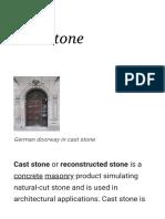 Cast Stone - Wikipedia