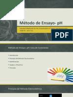 Método de Ensayo- PH