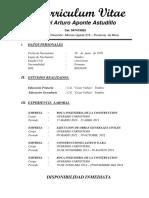 CURRICULUM VITAE  ISMAEL ARTURO APONTE ASTUDILLO.docx