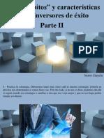 Nestor Chayelle - Los 8 Hábitos y Características de Los Inversores de Éxito, Parte II