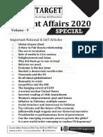Current Affairs (Volume v)