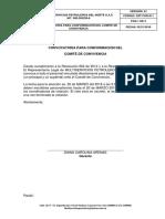Sst-For-011 Convocatoria Para Conformación Del Comité de Convivencia