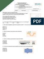 Examen 3er Trimestre Matematicas