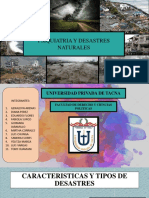 Psiquiatria y Desastres 1