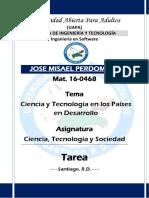 Tarea - CTS - Jose M. Perdomo 16-0468