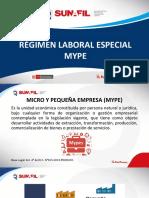 El Régimen Laboral Especial Mype