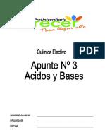 ACIDOS Y BASES APUNTE N°3