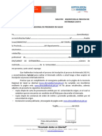 Formato n 1 Modelo de Solicitud Inscripcion Internado 2019 II