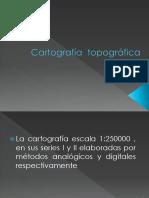 Cartografía Topográfica Digital