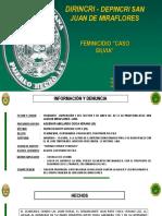 FEMINICIDIO - DEPINCRI SJM.ppt