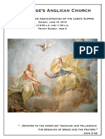 Trinity Sunday 2019 Year C | 16 June @ 9 & 11