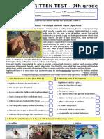 Test a2b1 Summer Camps Version b Special Need Stud Grammar Drills Information Gap Activities Oneonone 101522