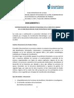 1- Análisis Situacional Plan Estratégico 18 de Junio 2019