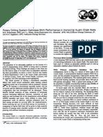 SPE 38615 Rotary Drilling System Optimises BHA Performance in Horizontal Austin Chalk Wells