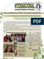 Boletim Internacional da JMV - Outubro 2010