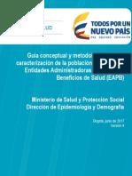 Guia Caracterizacion EAPB Version 21072014