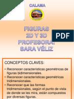 Figuras 2d y 3d Geometría