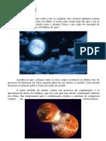 A Origem da Lua