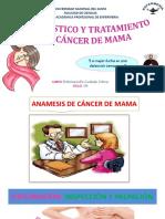 Diagnóstico y Tratamiento Del Cancer de Mama