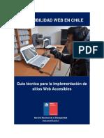 Guia de Accesibilidad Web Senadis2016