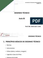 Desenho Técnico. Aula 03