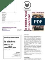 Bibliofilmographie cinéma russe et soviétique