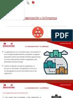 PPT S1 ADM (1) La Organizacion y La Empresa