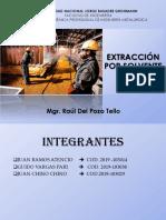 Extracción Por Solvente