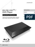 Sony Bdp 1100
