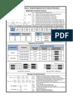 Formulas Transformadores Trifasicos