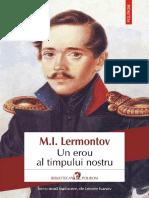 Lermontov - Un Erou Al Timpului Nostru