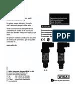 05. Sensor Presión S 10spa