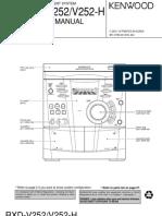 Kenwood RXDV 252 Service Manual
