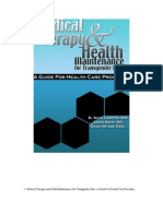 Medical Therapy and HM for Transgender Men_2005